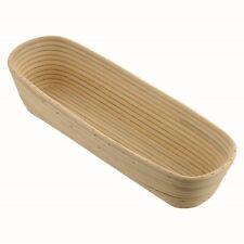Brotform Gärkorb Gärkörbe oval Peddigrohr 1 kg 30x16xH 9cm + Rezepte WG