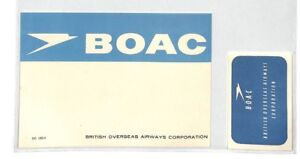 IngéNieux Ce41 Boac Vol étiquette-afficher Le Titre D'origine