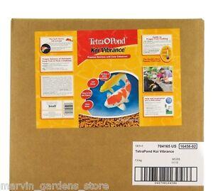 Tetra-Koi-Vibrance-Color-Enhancing-Premium-Fish-Food-40-Liter-16-5-lb-Box-16458