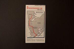 D Subway Map.Nos 1976 New York City Subway D Train Color Timetable Line Map