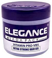 Elegance Extra Strong Protection Medium Hold Hair Gel Pomade Wax 17.6oz / 500ML