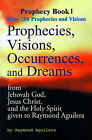 Prophecies, Visions, Occurences, and Dreams: From Jehovah God, Jesus Christ, and the Holy Spirit by Raymond Aguilera (Paperback / softback, 2000)
