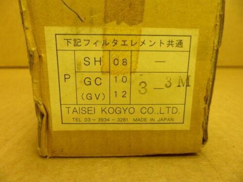 TAISEI KOGYO P-GC-3-3M HYDRAULIC OIL FILTER ELEMENT NOS