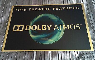 Dolby Atmos Cinema Sign