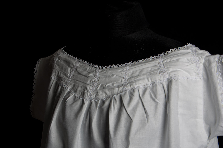 1860's Ladies Chemise, Civil War Undergarments, Very Accurate Reprocution