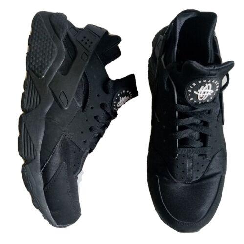 Nike Air Hurache Size 11 Black Trainers Sneakers M