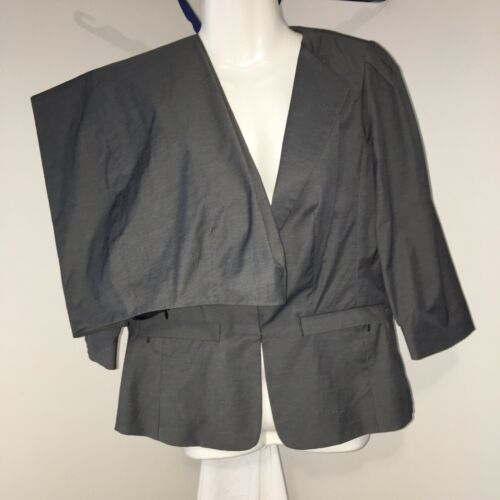 Sz Grey Lightweight Hook Sleeve 4 4 Suit Jacket Pant Gray Doncaster Front 3 IfEwqO4xU