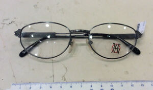 J-P-Gaultier-57-5106-Misura-51-19-montatura-vista-nuova-metallo-grigio-scuro