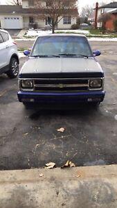 1984 Chevrolet S10 V8 swapped