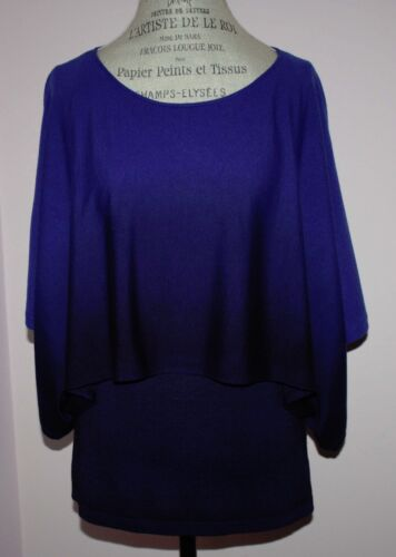 Lafayette 148 Medium Nwt sweater Topmaat New Dames 398 Blue York Rare Royal qPt4O