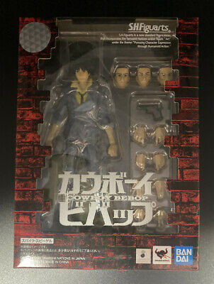SH Figuarts Spike Spiegel Cowboy Bebop Action Figure NEW SEALED MINT Tamashii