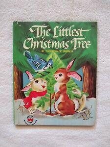 Vintage 1954 Wonder Books The Littlest Christmas Tree By ...