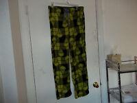 Grinch Pajamas Pants Medium 8 10 Christmas Women's Long Print Fleece