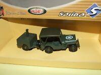 Jeep Militaire + Popote Solido 1:43