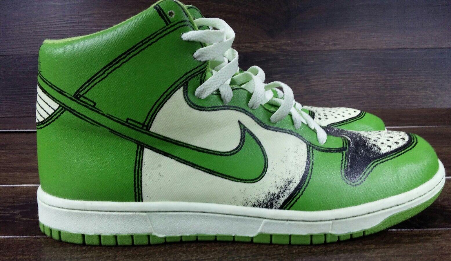 Nike Nike Nike Dunk High SB 1 Piece Premium 13 Seafoam Chlgoldphyll 318998 031 Paris London d55739