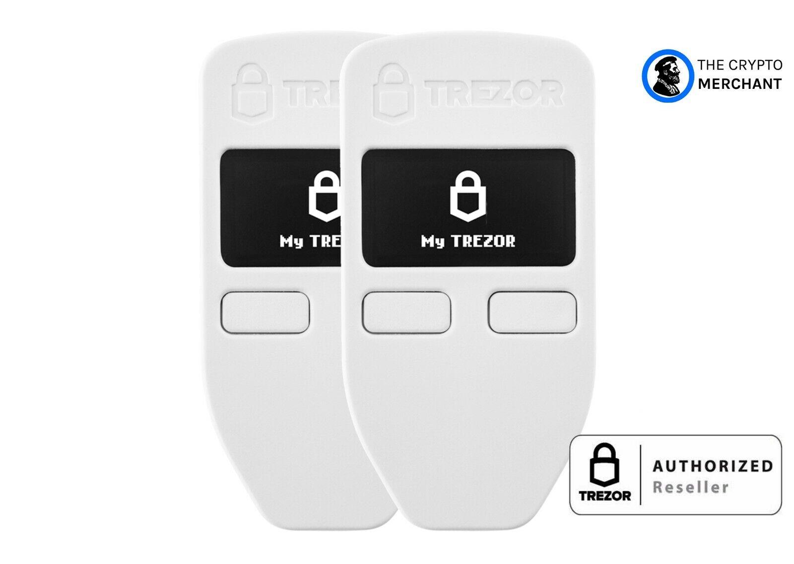 Ledger Nano X and Trezor Model T Hardware Wallet Backup Pack AUTHORIZED RETAILER