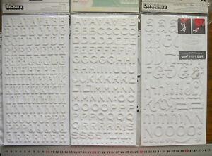 FANTASTIC-ROCKABYE-JEWELRY-BOX-Foam-WHITE-Thicker-Stickers-3Sizes-Choice-L1L