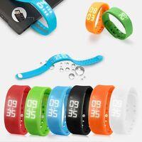 Smart Bluetooth Wristband Watch Pedometer Bracelet Sleep Sports Activity Tracker