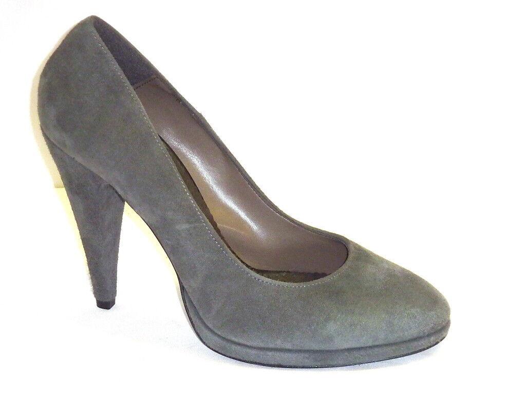 chaussures femmes DECOLLETTE' COMODI CAMOSCIO gris  35