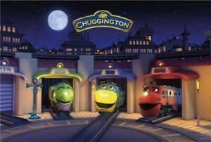 Chuggington-Train-BEDTIME-FLOOR-PUZZLE-24-Pieces-GLOWS-Wilson-Koko-Brewster