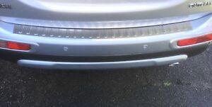 For-Mitsubishi-Outlander3-III-Chrome-Rear-Bumper-Protector-Scratch-Guard-S-Steel