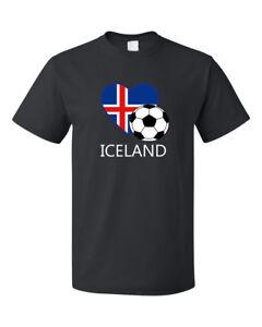 Iceland-Soccer-Team-Football-Futbol-Unisex-Black-T-Shirt-Tee-Top