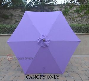Image Is Loading 9ft Patio Outdoor Market Umbrella Replacement Canopy Cover