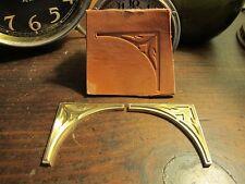 Brass CORNER set Leather Bookbinding letterpress Stamp embossing die ST7