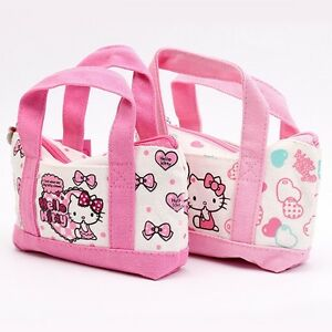 9f391703b1 Image is loading 1pcs-Sanrio-Hello-Kitty-Character-Canvas-Pouch-Cosmetic-