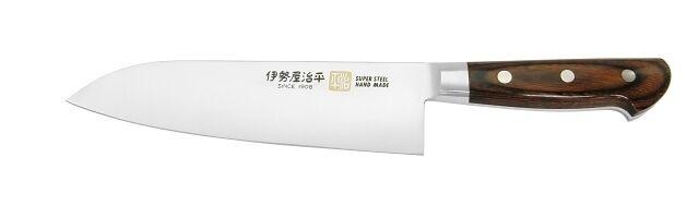 Santoku Couteau 180 mm - 7 in (environ 17.78 cm) - B-5 - Acier forgé-Seto chef japonais couteaux