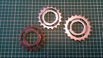 18,20t Raleigh Sturmey Archer Speed Sprocket Cassette Rear Cog 1/2 X 1/8 Sizes