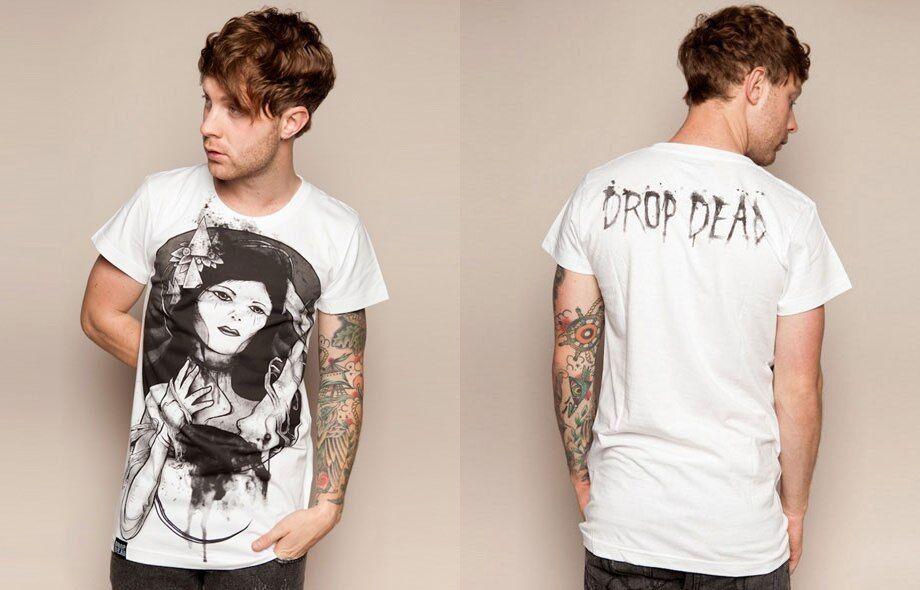 Drop Dead Clothing - Melt Into Dark Tee Tshirt Rare BMTH Oliver Sykes