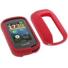 Tasche für Garmin Oregon 600 / 600t / 700 / 750 Schutz Hülle Silikon GPS Rot