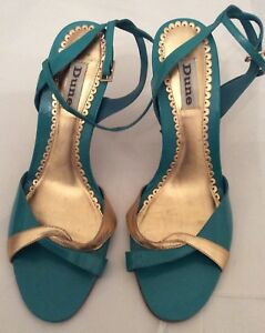 6 Strap amp; Sandals Ankle Size Evening Gold Dune Green Spxq5nPw8