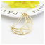 UK Seller NEW Beautiful Gold or Silver Tone Geometric Hair Clip 14 Designs