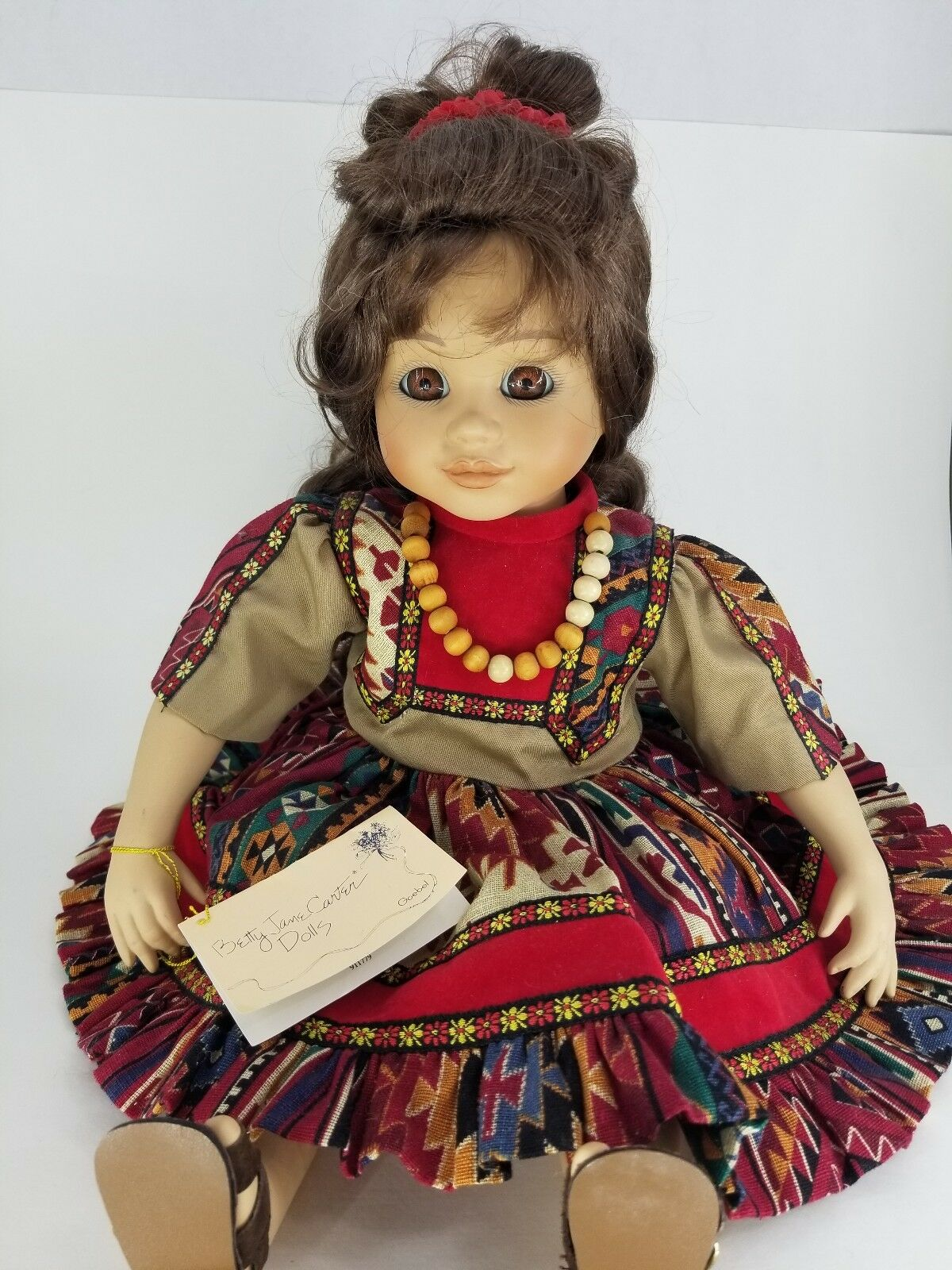 Goebel Bette Bola 1994 le World Amor México Rosita Musical Muñeca De Porcelana