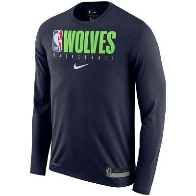 Minnesota Timberwolves Nike Practice Legend Performance Drifit