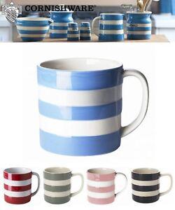 Details about Cornishware Blue & White Stripe Sets of Coffee Cups Mugs, 4oz, 6oz, 10oz or 15oz