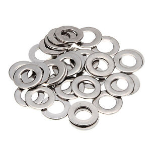 50Pcs-FORM-A-WASHERS-WIDE-THICK-FLAT-A2-STAINL-STEEL-METRIC-SIZES-1-6MM-10MM
