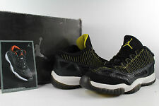 Nike Air jordan Retro XI Low IE 11 Black Zest White Size 10