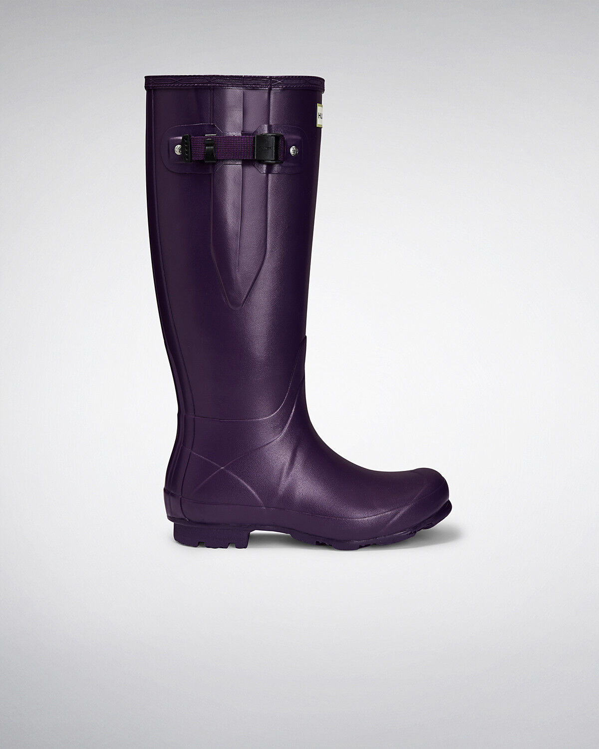 Genuine New Hunter Norris Field Women Adjustable Dark Iris Wellington Boots UK s