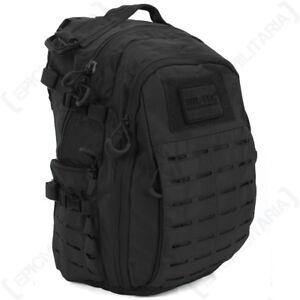 Herren-accessoires Military Army Backpack Bag Hiking Camping 25l Mens New Hextac Black Rucksack Taschen