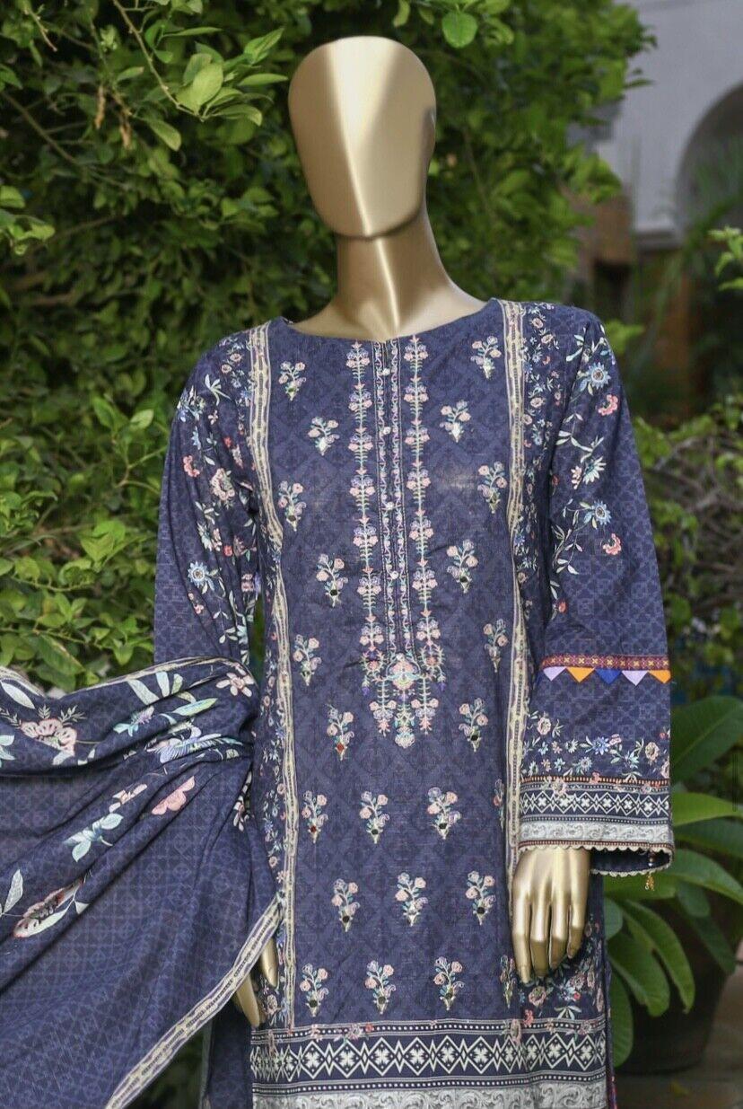 Pakistani original Bin saeed stitched 3 pcs suit