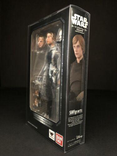 STAR Wars Bandai S.H Figuarts Luke Skywalker Rotj Protettivo Custodia Espositore