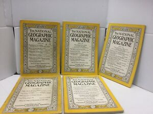 Lot-The-National-Geographic-Magazine-1-1941-4-1950s