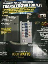 Reliance Portable Generator Transfer 10 Circuit 30 Amp Model 31410crk
