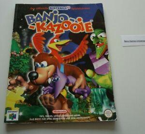 N64 Nintendo 64 Banjo-Kazooie offizieller Spieleberater Deutsch
