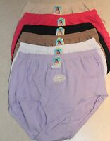 Womens Briefs Panties Size S - 5, M - 6, L - 7, Xl - 8 Spandex 435