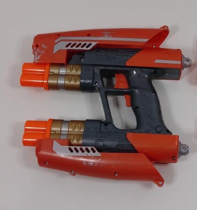 Marvel Guardians of the Galaxy Galaxy Galaxy Star Lord quad blaster  Nerf Hasbro 2014 32f5af
