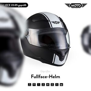Casque-Integral-Jet-Scooter-ECE-Noir-MOTO-Helmets-X86-Racing-Black-XS-S-M-L-XL